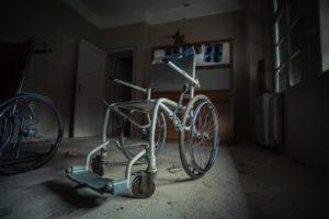 Bureau du radiologue - Sanatorium CHM