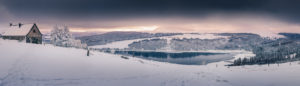 Lac du Guery en Hiver