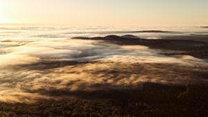 Limagne sous les nuages
