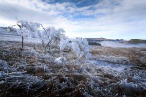 Matin Glacial - Col de la Croix Morand