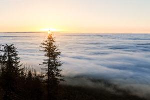 Au dessus des nuages - Puy de Dôme
