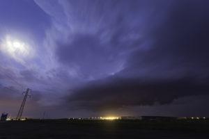 Mésocyclone en Beauce - 9 juin 2014