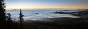 Mer de nuages depuis le Puy de Dôme - Lever de soleil