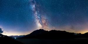 Voie lactée au lac du Mont Cenis - Savoie