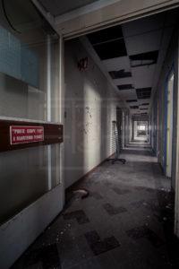 Couloir - Sanatorium CHM